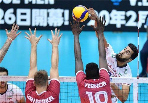 فرم پیش بینی بازی والیبال ایران و کانادا چهارمین دوره لیگ ملت ها