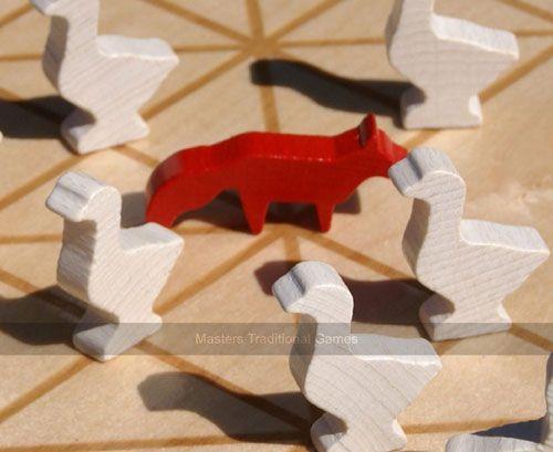 آموزش بازی روباه و غازها یک بازی شسته و رفته STEAM